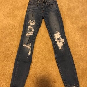 AE Jeans Size 00 & 0